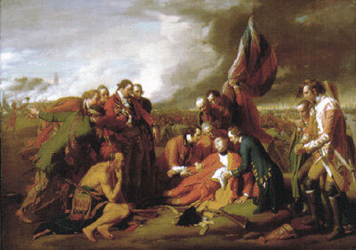 Death of Wolfe
