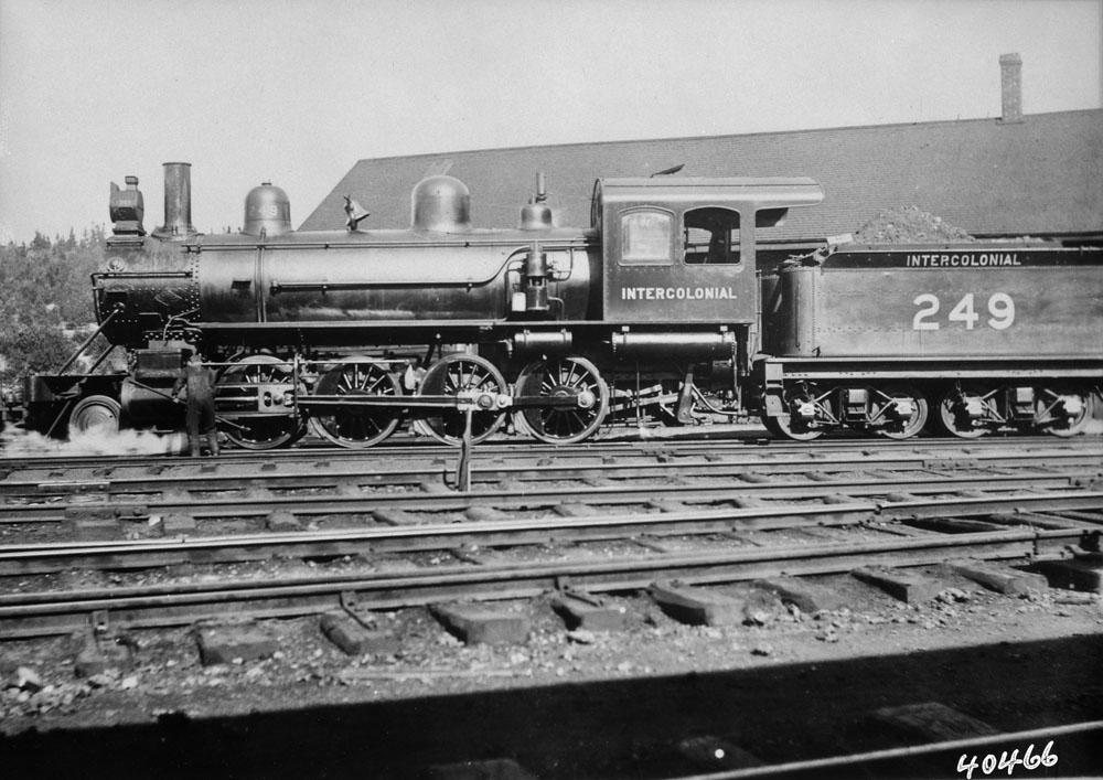 Intercolonial Locomotive No. 249
