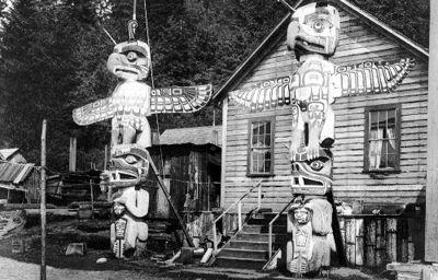 Totem Poles at Alert Bay