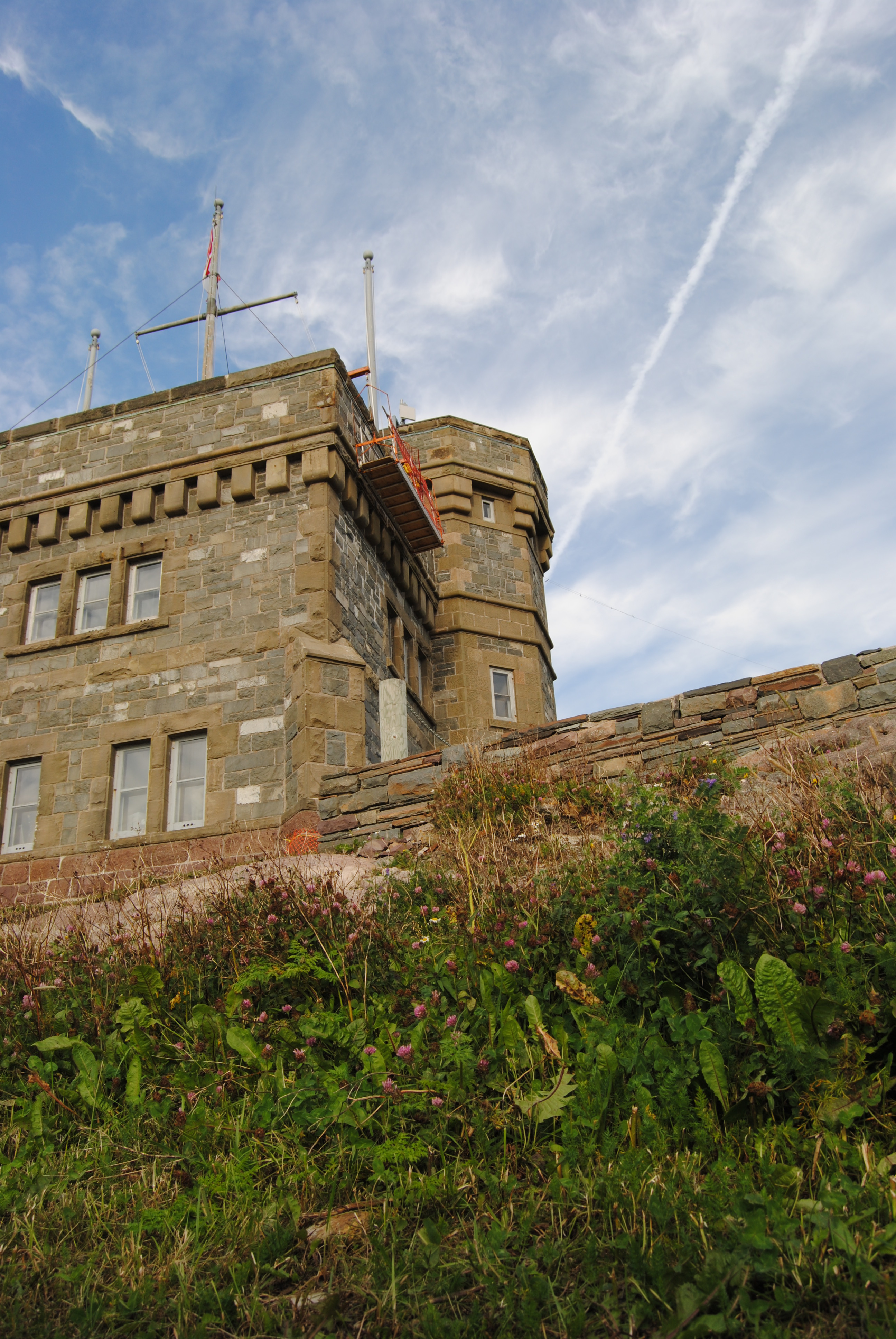 Cabot tower on Signal Hill, Nfld.