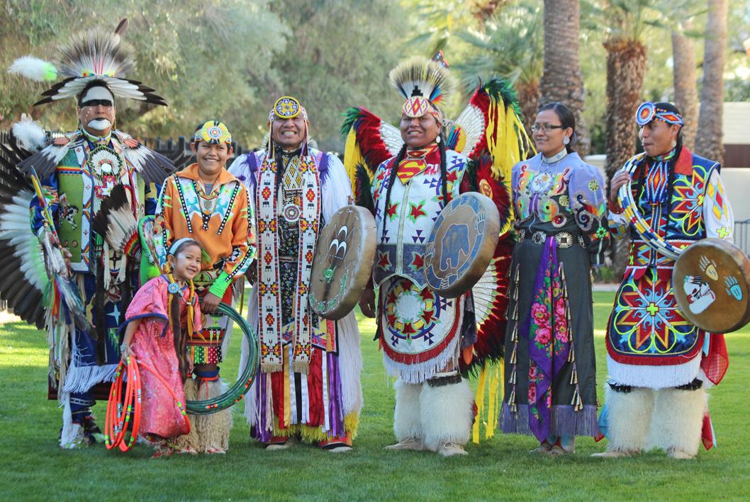 Danseurs de pow-wow