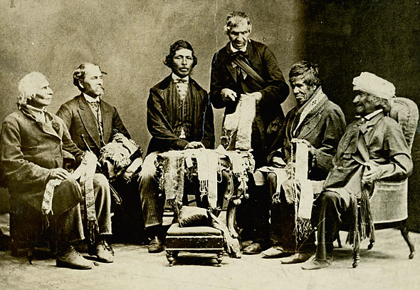 Chiefs of the Six Nations, 1871