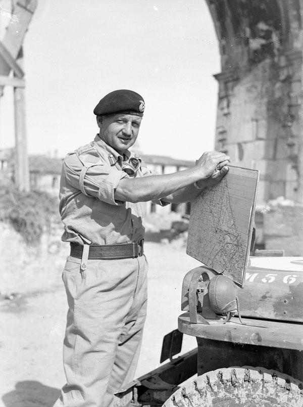 Lieutenant-General E.L.M Burns
