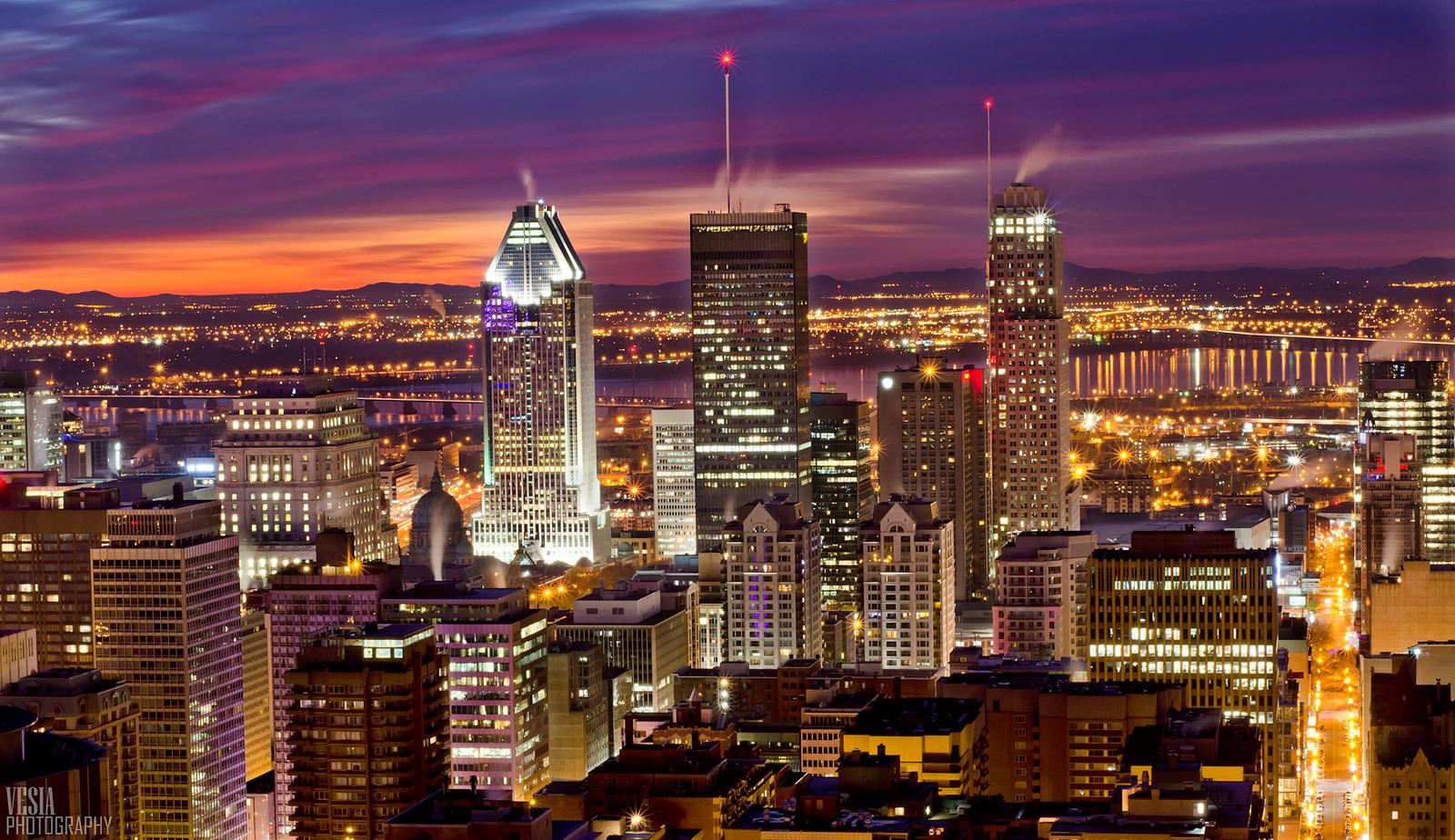 Montréal, à l'aube