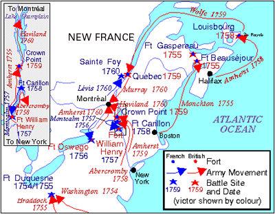 Guerre de Sept Ans (carte)
