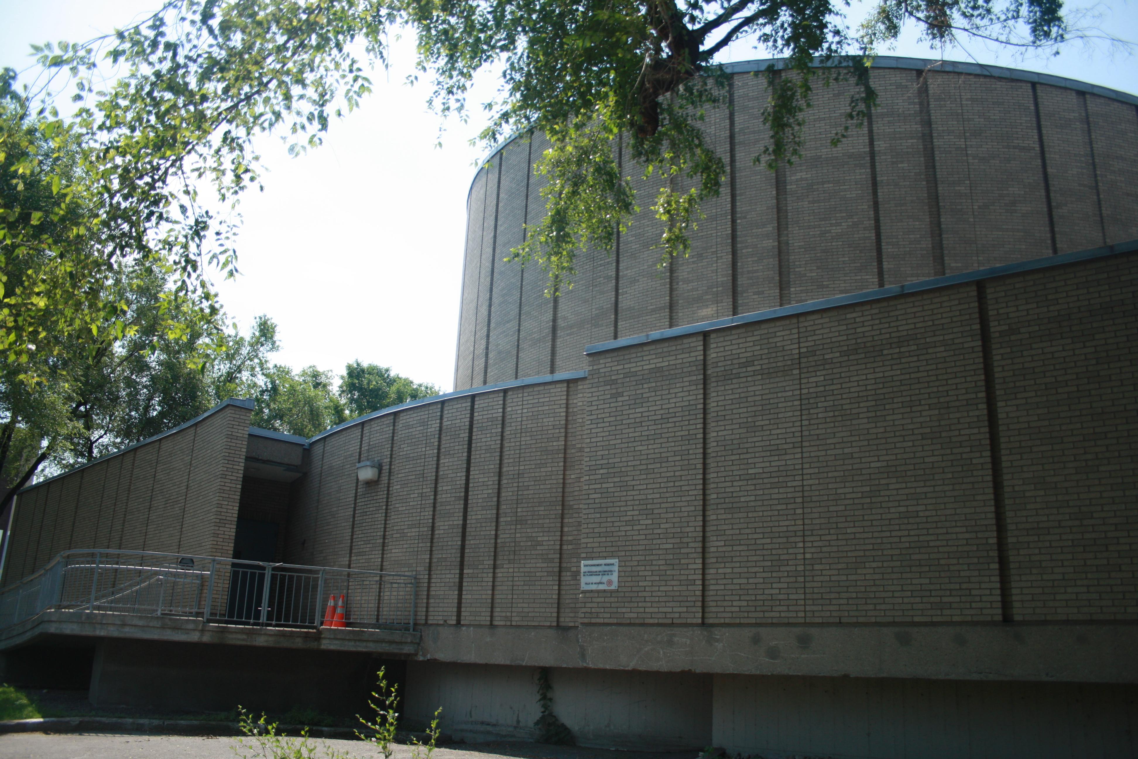 The Dow Planetarium in Montréal, 2012.