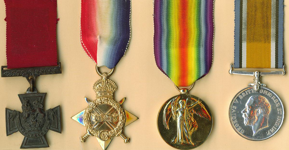 Leo Clarke medals