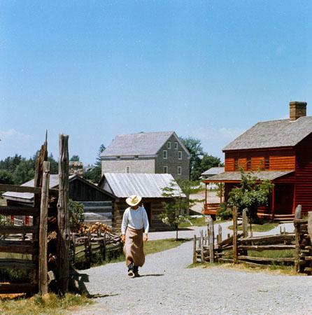 Road in Black Creek Pioneer Village