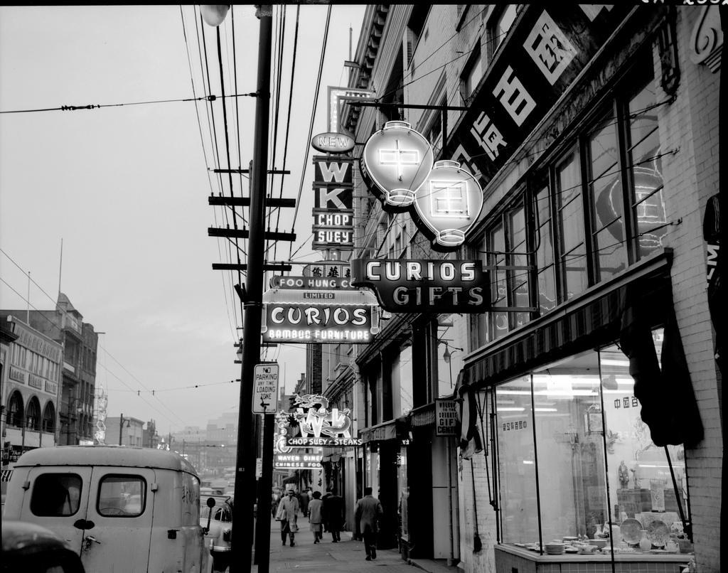 Pender Street in Vancouver