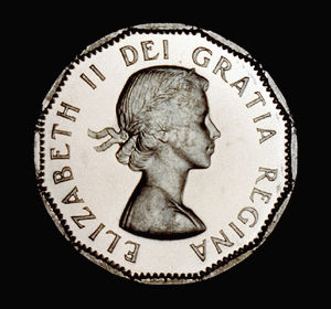 Pièce de cinq cents (en nickel)