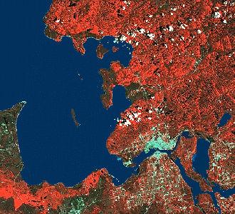 Sault Ste Marie, Satellite Image