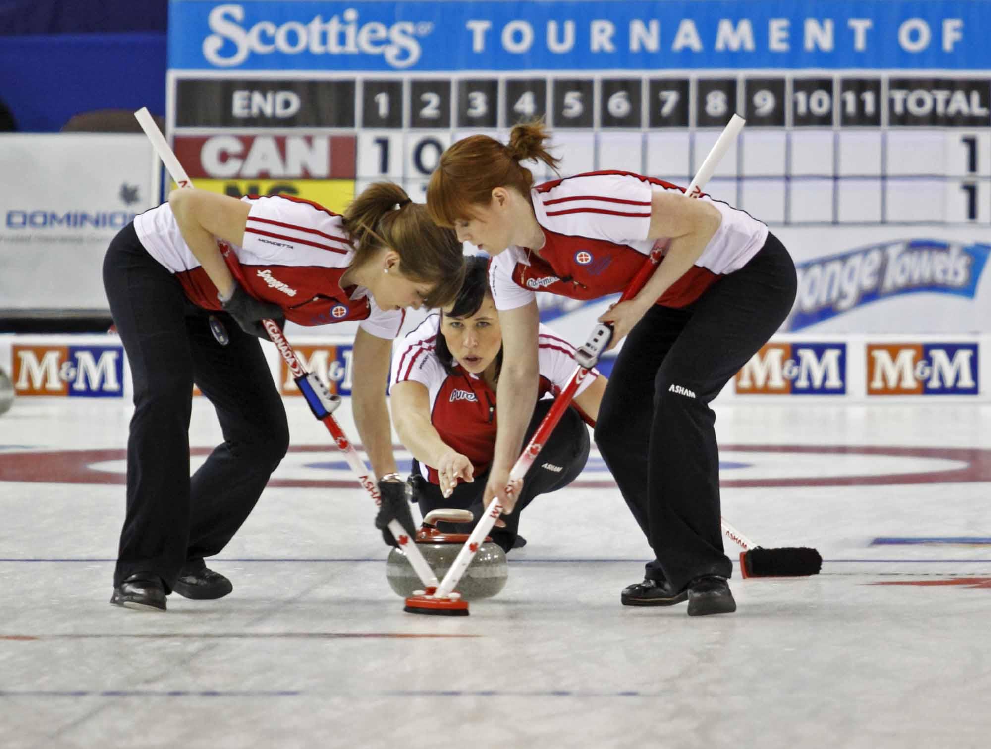 Scotties Curling Sweep