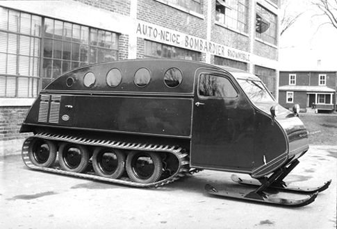 B7 Auto-Neige, First Commercial Snowmobile