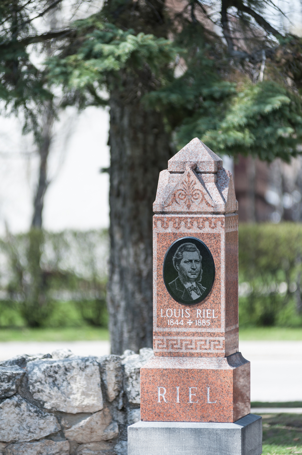 Louis Riel Tombstone