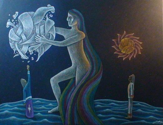 Wisakedjak et la lune