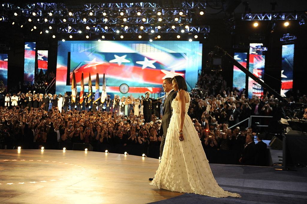 Michelle Obama at 2009 Inaugural Ball