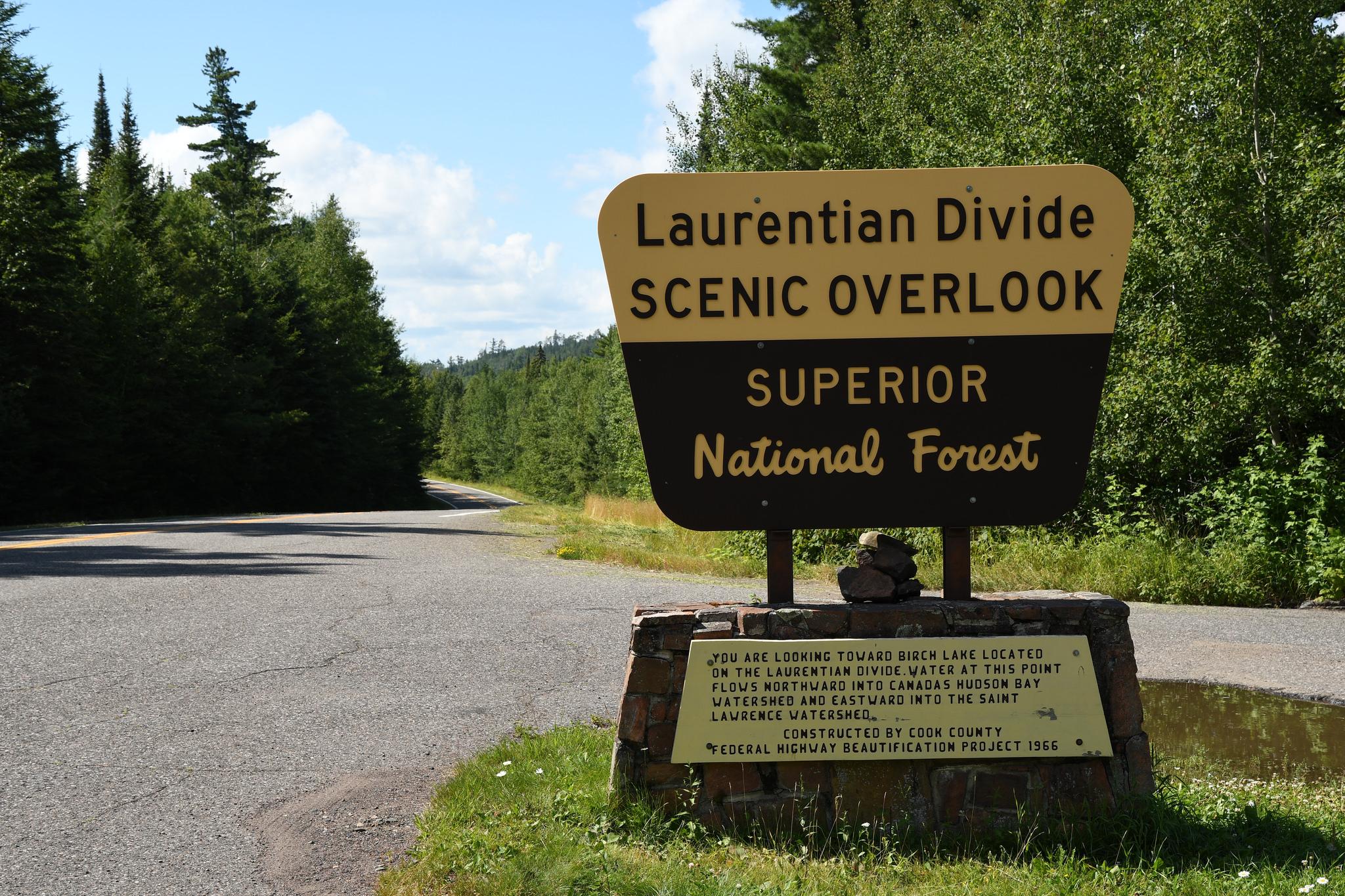 Laurentian Divide