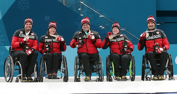 Curling Team, 2018 Paralympic Games