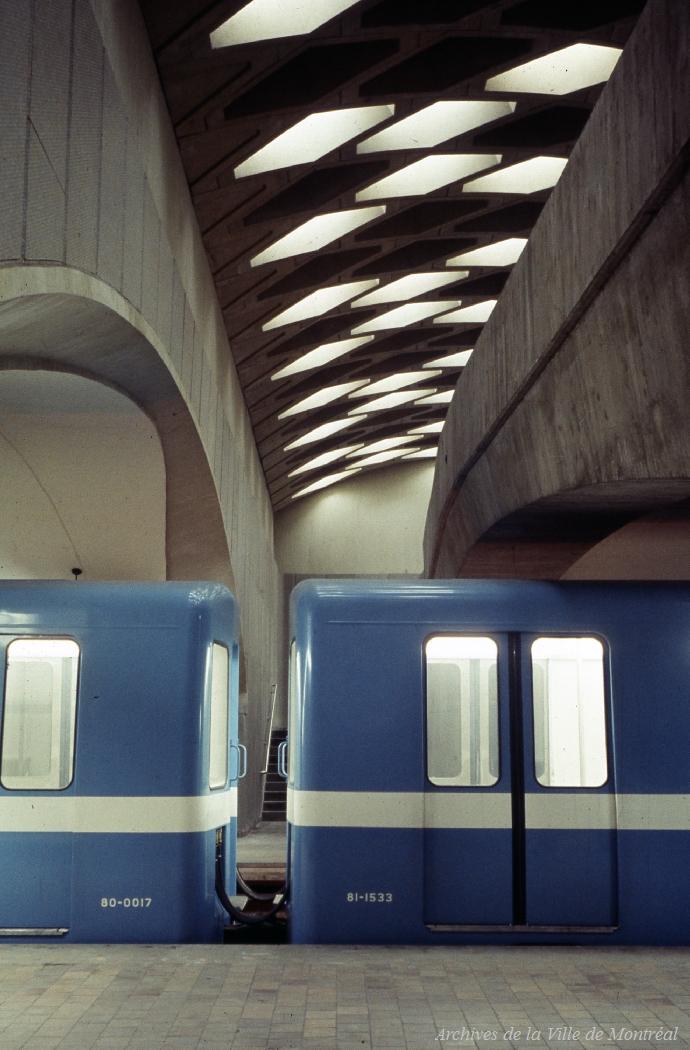 Station de me\u0301tro Jarry, 1966
