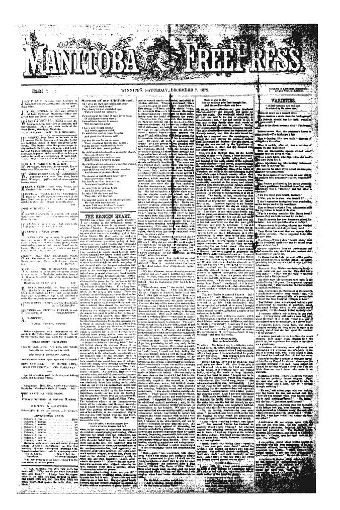 Manitoba Free Press