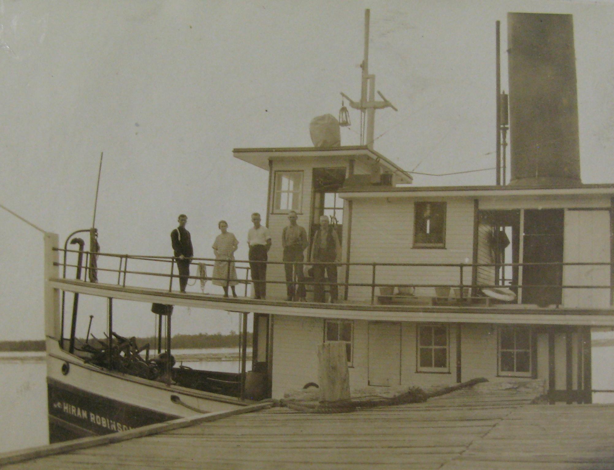 Crew of the Steamship Hiram Robinson (1929).