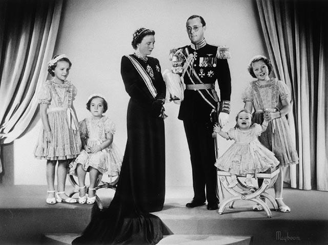 Photo de Noël officielle de la famille royale hollandaise