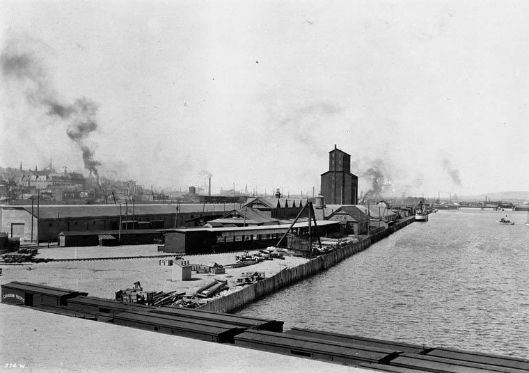 Abris pour immigrants, Québec, 1908