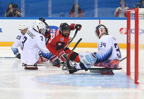 Para Ice Hockey, 2018 Paralympic Winter Games