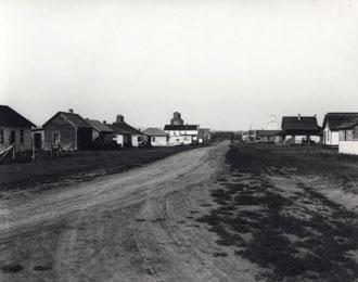 Main Street Wembley, Alta, 1930