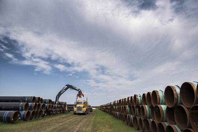 Pipeline de la canalisation 3