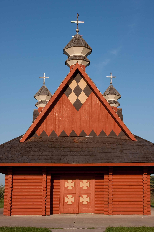 Église ukrainienne en bois