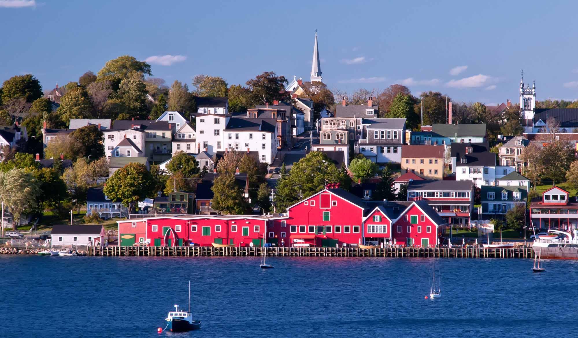 Waterfront, Lunenburg, Nova Scotia, Canada