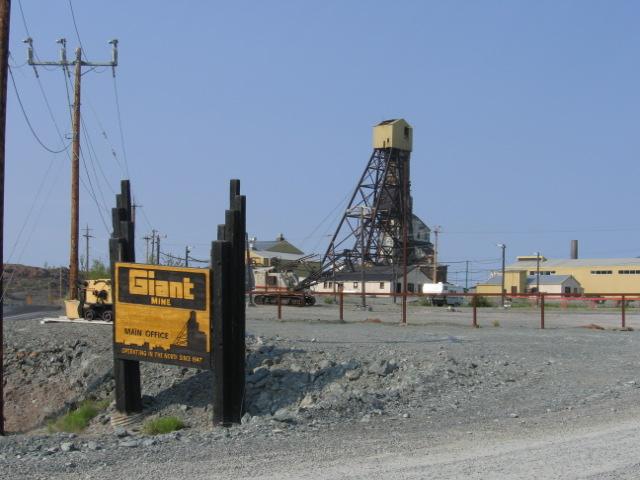 Giant Mine, Yellowknife