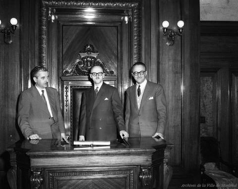 Élection de Jean Drapeau à la mairie de Montréal