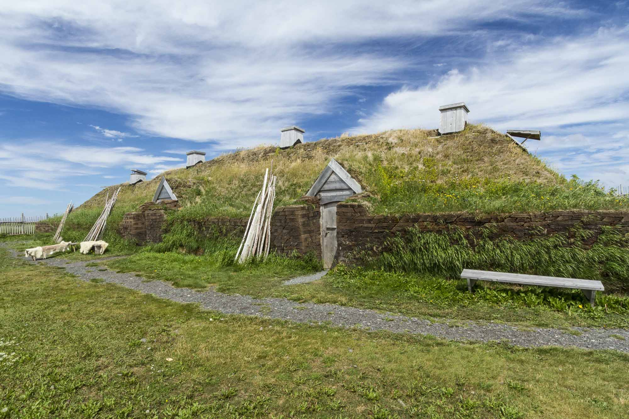 L'Anse Aux Meadows Viking Long Hall