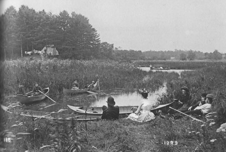 A Day at Mimico Creek, 1889