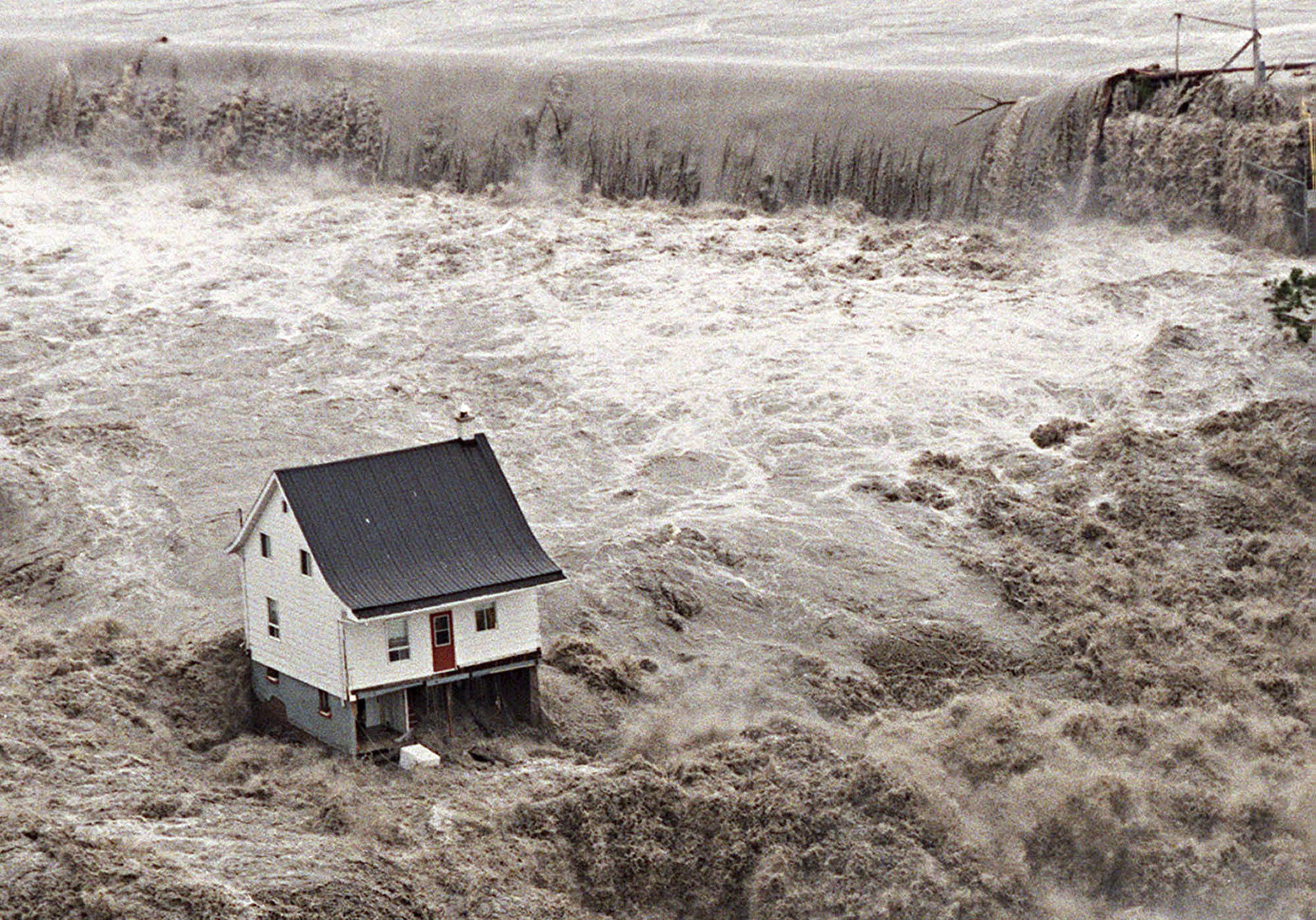 Inondation de la rivière Chicoutimi, 21 juillet 1996