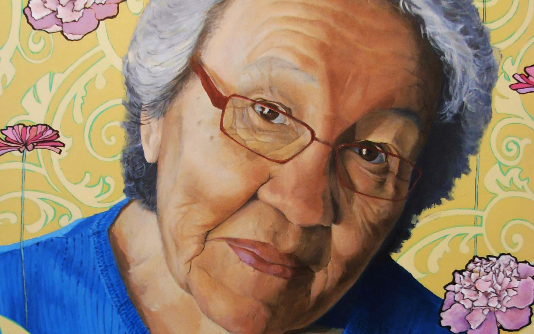 """Grandma"" by Catherine Blackburn."