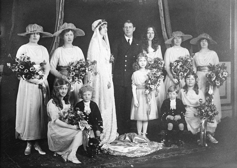 Réception de mariage de la princesse Patricia