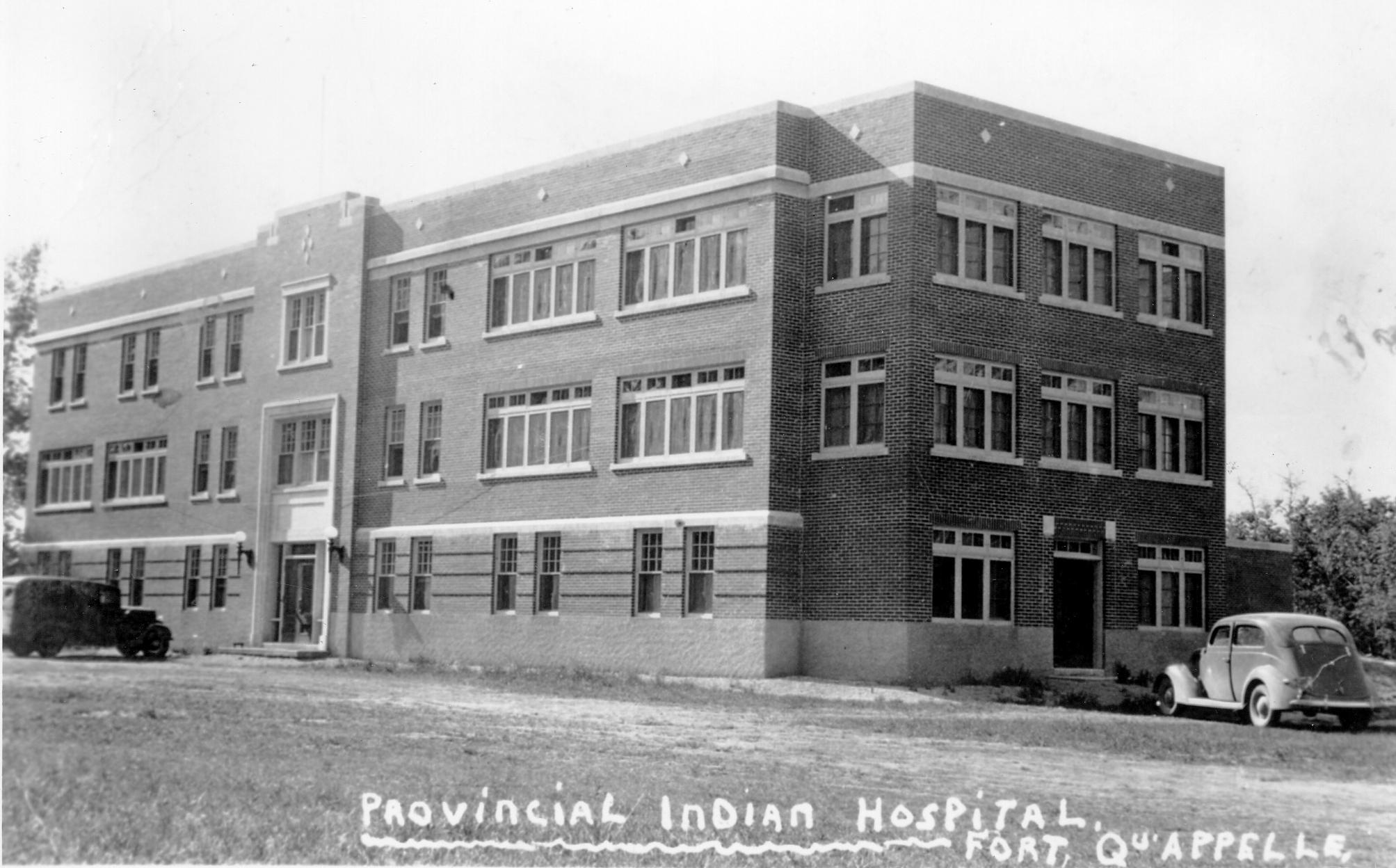 Hôpital indien de Fort Qu