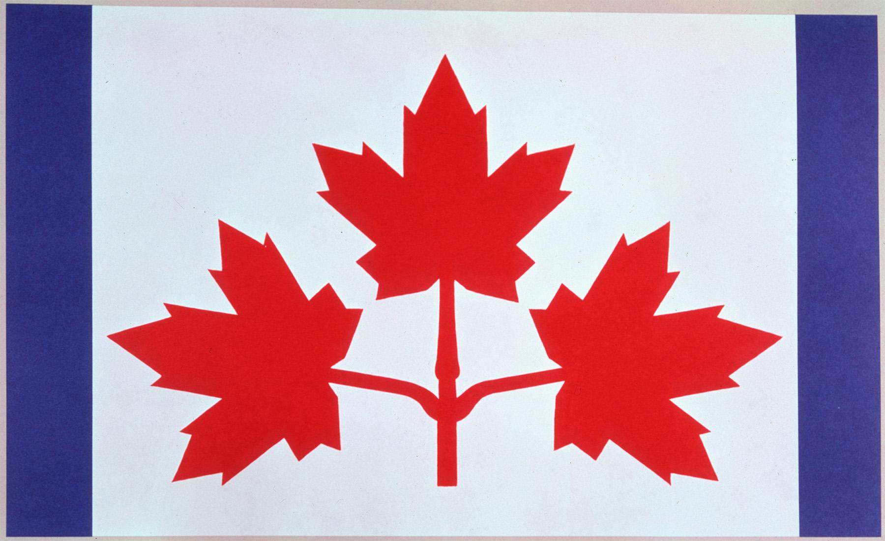 Motif de drapeau proposé : Le «Pearson Pennant»