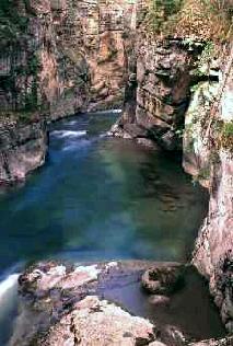 Le canyon Maligne