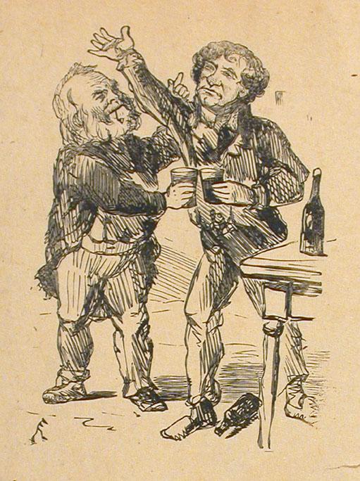 John Dougall et Sir John A. Macdonald