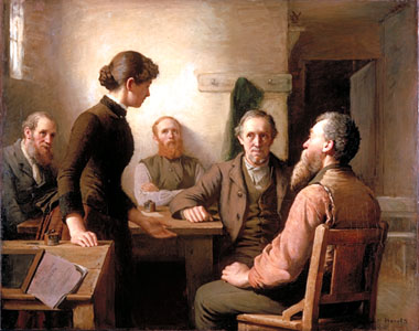 Meeting of the School Trustees