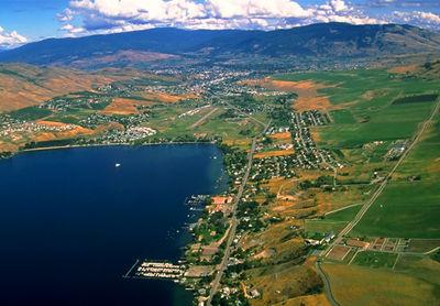 Vernon, BC (Aerial)