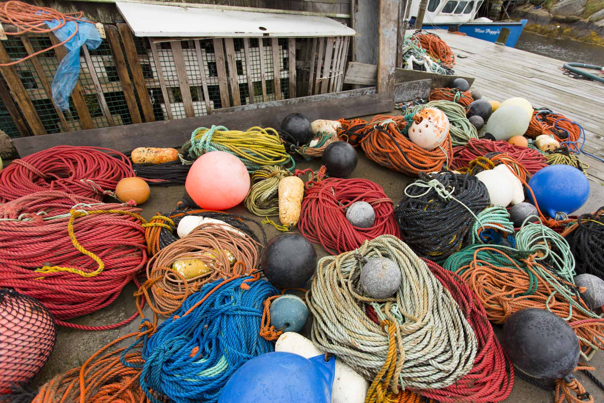 Peggy's Cove Fishing lines