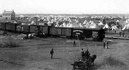 Barr, camp des colons de