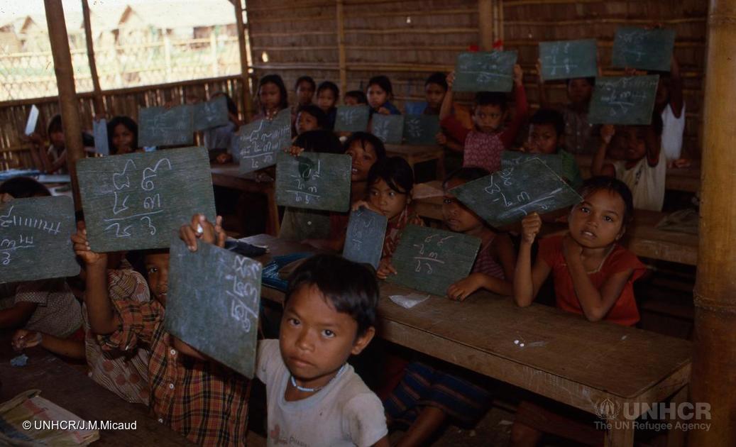 Réfugiés cambodgiens, 1981