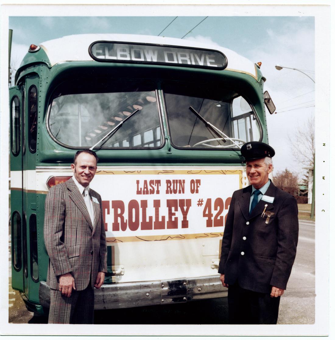 Calgary Trolley Coach