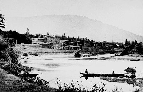 Coast Salish Village of Quamichan